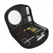 Kit Manicure Com 15 Peças e Estojo