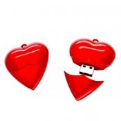 Pendrive em Formato de Coração